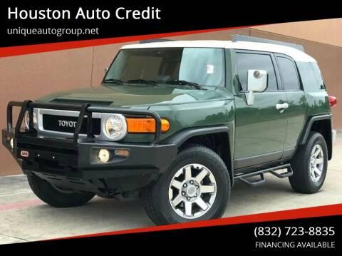 2014 Toyota FJ Cruiser for sale at Houston Auto Credit in Houston TX