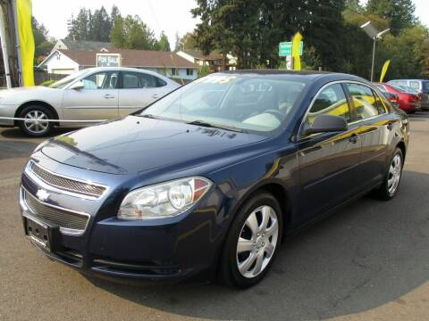 2010 Chevrolet Malibu for sale at Yellow Line Motors in Lafayette OR
