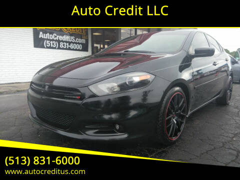 2015 Dodge Dart for sale at Auto Credit LLC in Milford OH