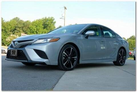 2019 Toyota Camry for sale at WHITE MOTORS INC in Roanoke Rapids NC