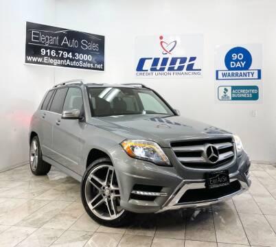 2013 Mercedes-Benz GLK for sale at Elegant Auto Sales in Rancho Cordova CA