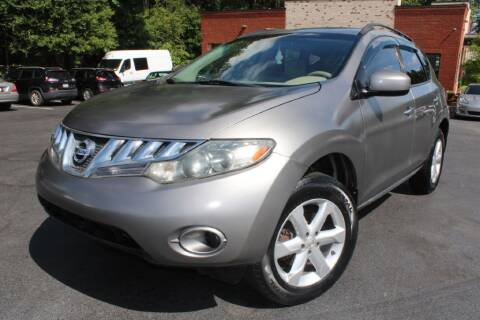2009 Nissan Murano for sale at Atlanta Unique Auto Sales in Norcross GA