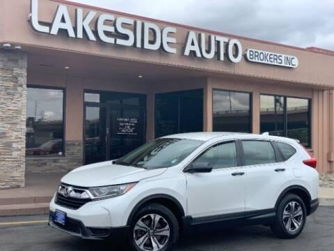 2019 Honda CR-V for sale at Lakeside Auto Brokers in Colorado Springs CO