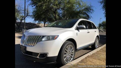 2011 Lincoln MKX for sale at Noble Motors in Tucson AZ