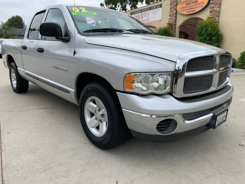 2002 Dodge Ram Pickup 1500 for sale at Select Auto Wholesales in Glendora CA