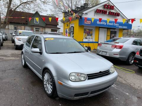 2004 Volkswagen GTI for sale at C & M Auto Sales in Detroit MI