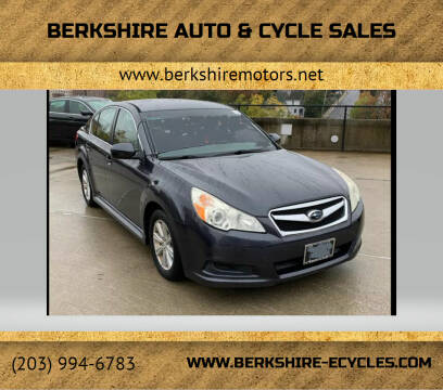 2011 Subaru Legacy for sale at Berkshire Auto & Cycle Sales in Sandy Hook CT