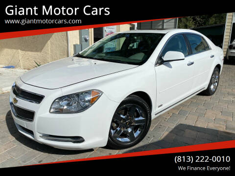 2012 Chevrolet Malibu for sale at Giant Motor Cars in Tampa FL