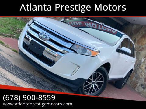 2012 Ford Edge for sale at Atlanta Prestige Motors in Decatur GA
