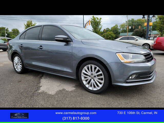 2015 Volkswagen Jetta for sale at Carmel Auto Group in Indianapolis IN