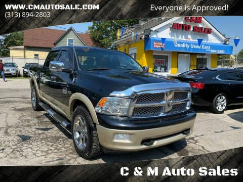 2012 RAM Ram Pickup 1500 for sale at C & M Auto Sales in Detroit MI