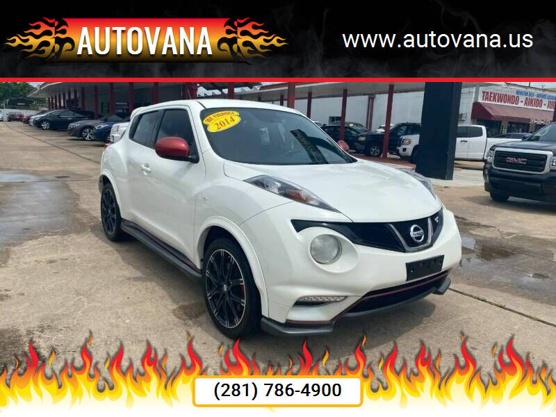 2014 Nissan JUKE for sale at AutoVana in Humble TX
