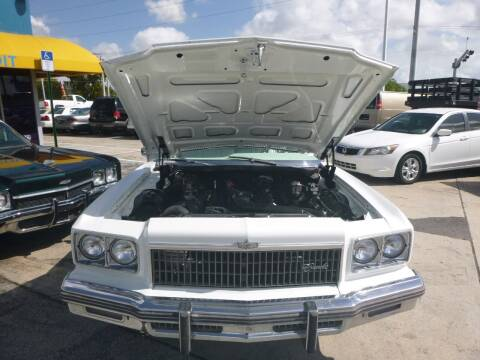 1975 Chevrolet Caprice for sale at Car Mart Leasing & Sales in Hollywood FL