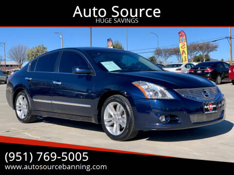 2011 Nissan Altima for sale at Auto Source in Banning CA