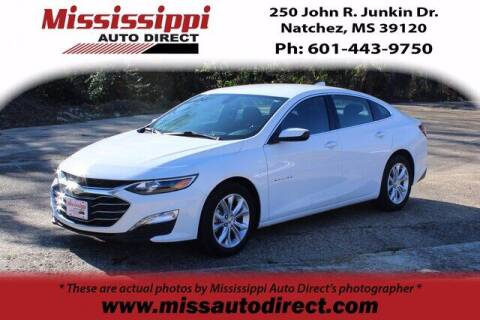 2020 Chevrolet Malibu for sale at Auto Group South - Mississippi Auto Direct in Natchez MS