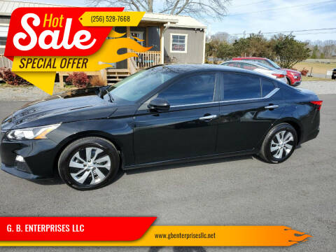 2021 Nissan Altima for sale at G. B. ENTERPRISES LLC in Crossville AL