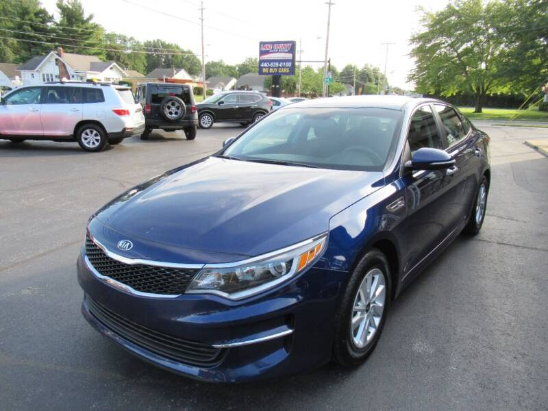 2018 Kia Optima for sale at Lake County Auto Sales in Painesville OH