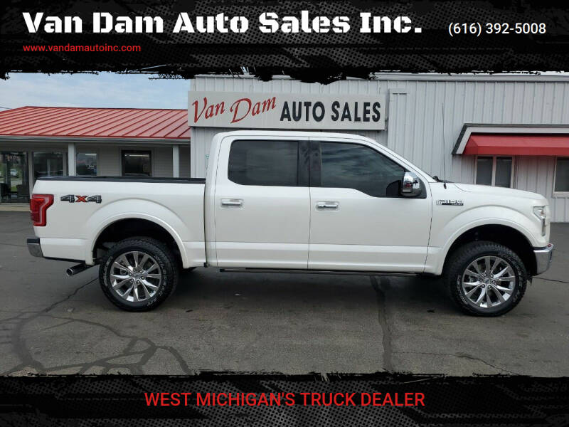 2016 Ford F-150 for sale at Van Dam Auto Sales Inc. in Holland MI