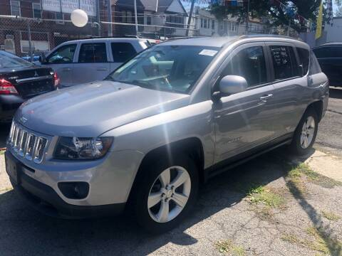 2014 Jeep Compass for sale at GARET MOTORS in Maspeth NY