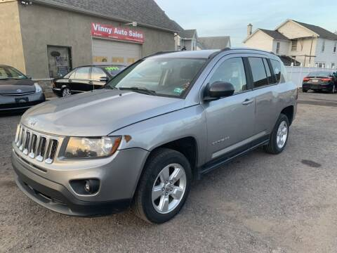 2014 Jeep Compass for sale at VINNY AUTO SALE in Duryea PA