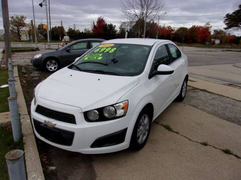 2014 Chevrolet Sonic for sale at BERGER'S CAR CARE in Milwaukee WI
