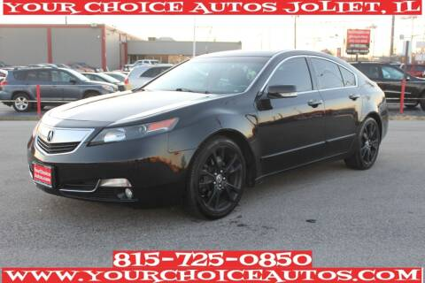 2012 Acura TL for sale at Your Choice Autos - Joliet in Joliet IL