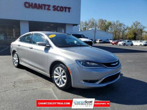 2015 Chrysler 200 for sale at Chantz Scott Kia in Kingsport TN