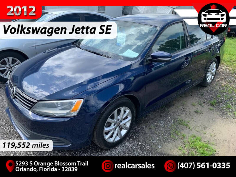 2012 Volkswagen Jetta for sale at Real Car Sales in Orlando FL