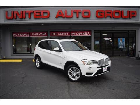 2015 BMW X3 for sale at United Auto Group in Putnam CT