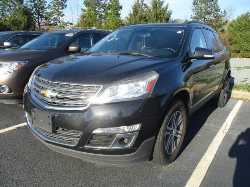 2015 Chevrolet Traverse for sale at Power On Auto LLC in Monroe NC