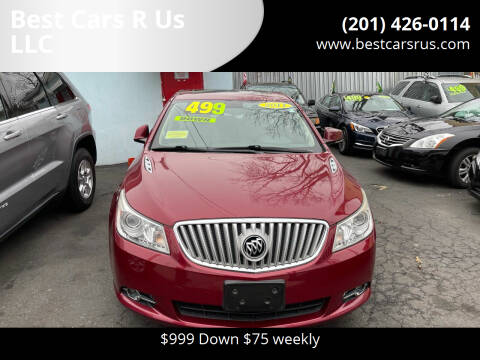 2011 Buick LaCrosse for sale at Best Cars R Us LLC in Irvington NJ