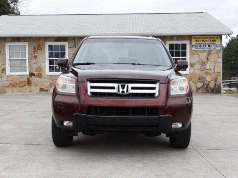 2007 Honda Pilot for sale at Flywheel Auto Sales Inc in Woodstock GA