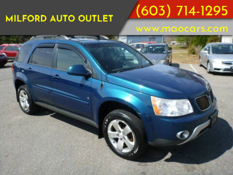 2006 Pontiac Torrent for sale at Milford Auto Outlet in Milford NH