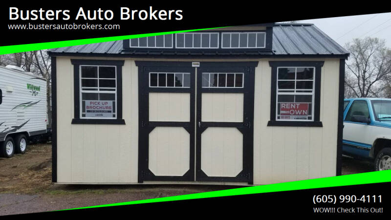 2021 Old Hickory Building 10 X 16 Side Dormer Building  for sale at Busters Auto Brokers in Mitchell SD