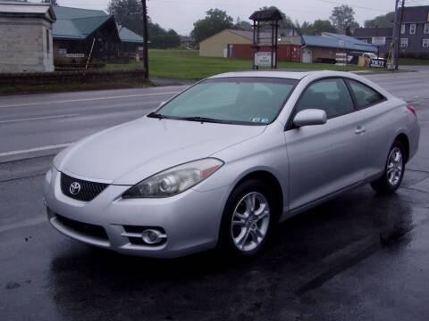 2008 Toyota Camry Solara for sale at The Autobahn Auto Sales & Service Inc. in Johnstown PA
