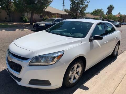 2015 Chevrolet Malibu for sale at Premier Motors AZ in Phoenix AZ