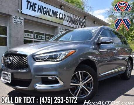 2018 Infiniti QX60 for sale at The Highline Car Connection in Waterbury CT