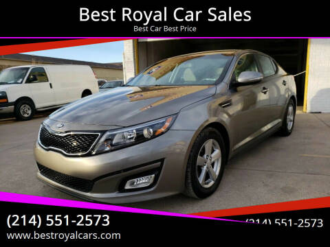 2014 Kia Optima for sale at Best Royal Car Sales in Dallas TX