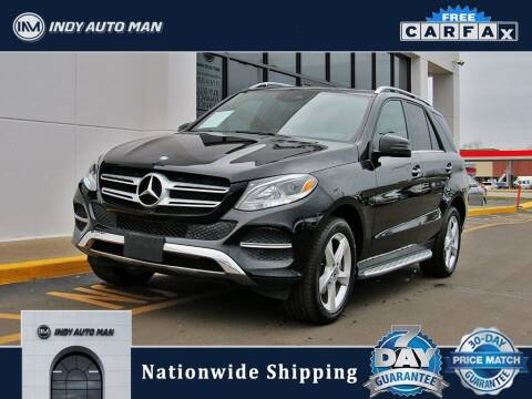 2017 Mercedes-Benz GLE for sale at INDY AUTO MAN in Indianapolis IN