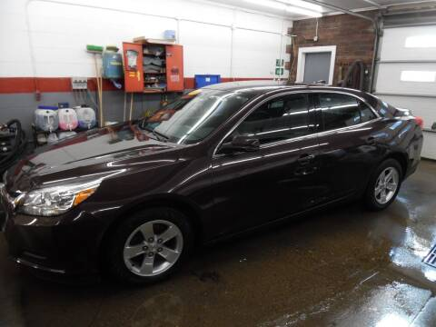 2015 Chevrolet Malibu for sale at East Barre Auto Sales, LLC in East Barre VT
