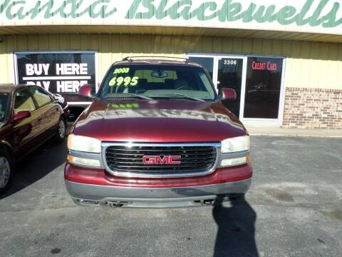 2003 GMC Yukon for sale at Credit Cars of NWA in Bentonville AR