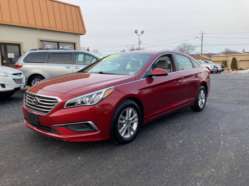 2016 Hyundai Sonata for sale at Majestic Automotive Group in Cinnaminson NJ