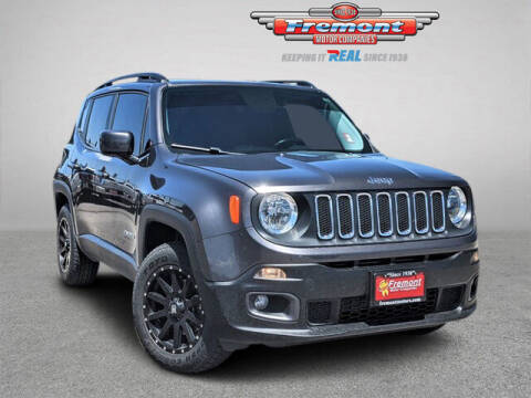 2017 Jeep Renegade for sale at Rocky Mountain Commercial Trucks in Casper WY