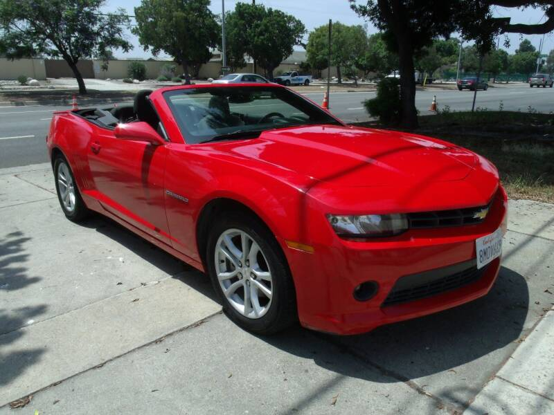 2015 Chevrolet Camaro for sale at Hollywood Auto Brokers in Los Angeles CA