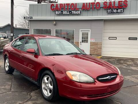 2003 Ford Taurus for sale at Capitol Auto Sales in Lansing MI