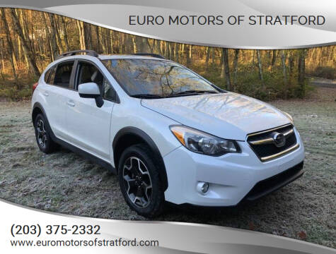 2014 Subaru XV Crosstrek for sale at Euro Motors of Stratford in Stratford CT