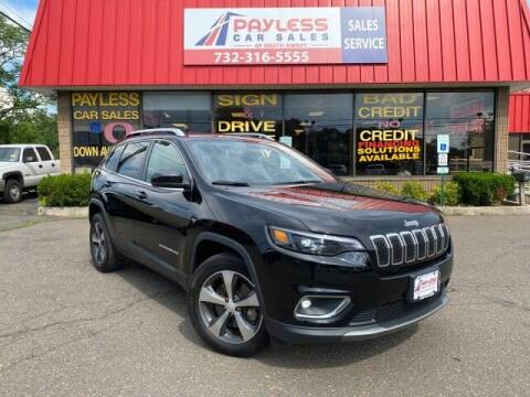 2019 Jeep Cherokee for sale at PAYLESS CAR SALES of South Amboy in South Amboy NJ