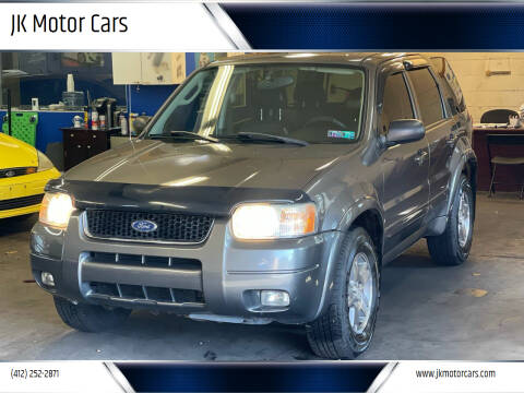 2004 Ford Escape for sale at JK Motor Cars in Pittsburgh PA