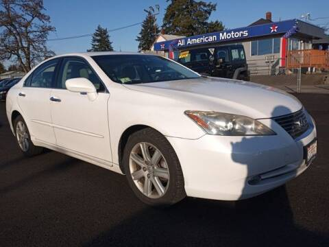 2009 Lexus ES 350 for sale at All American Motors in Tacoma WA