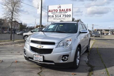 2013 Chevrolet Equinox for sale at A1 Auto Sales in Sacramento CA